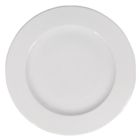 Assiette prestige plate 21 cm blanc porcelaine
