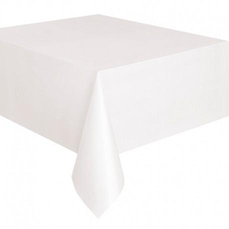 Nappe blanche 178x274 coton