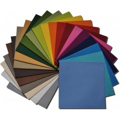 Serviette en soie sèche couleur 40x40 (50)