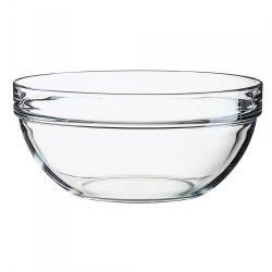Saladier transparent 26cm