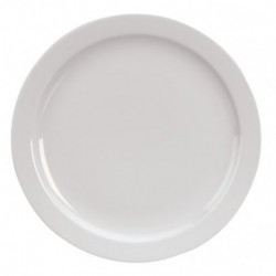 Assiette cocktail plate ronde 20cm blanc