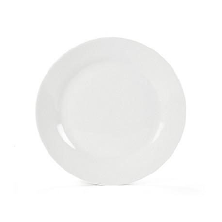 Assiette prestige plate 17 cm blanc porcelaine