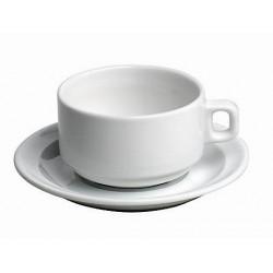 Tasse et sous tasse bistro