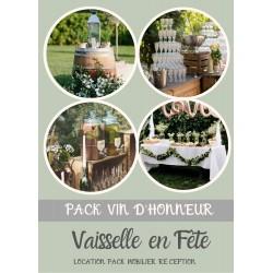 Pack vin d'honneur
