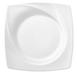 Assiette carrée 25x25
